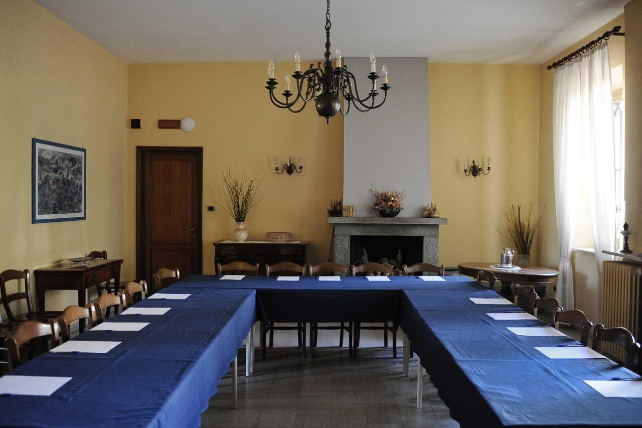 Oasi di Cavoretto - Sala del Camino