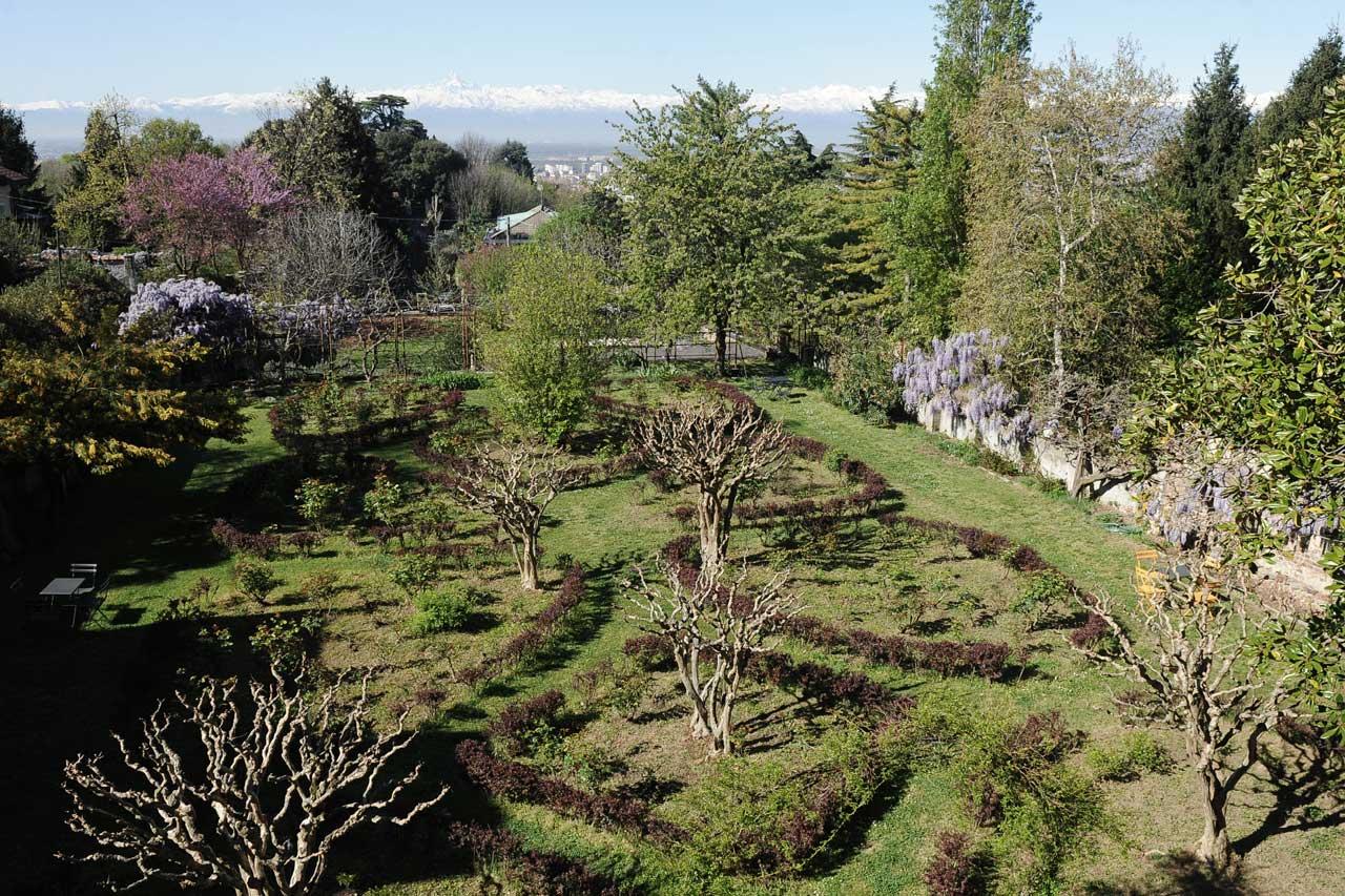 Oasi di Cavoretto - Giardino